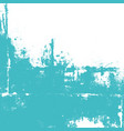 abstract wall painted in turquoise color vector image