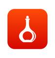 Carafe icon digital red vector image