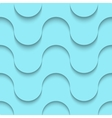 Halftone blue seamless pattern weaves modern vector image