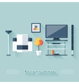 Lounge or Sitting Room Cover vector image