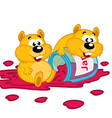 hamster and jam vector image
