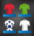 Cycling Jerseys vector image vector image