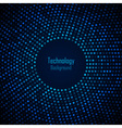 Abstract Circular Blue Background vector image