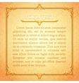 Light golden classic premium plaque vector image