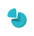 sphere cut logo logo geometric abstract logo on vector image