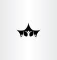 leader boss man people icon logo vector image