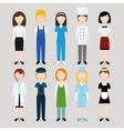 women profession vector image