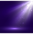 abstract of bright stage light vector image