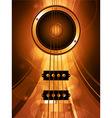 Air bass guitar and loudspeaker vector image vector image