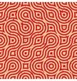 Seamless Geometric Wavy Lines Irregular vector image