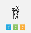 Of cleanup symbol on scrubbing vector image
