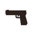Gun symbol vector image
