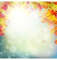 Autumn abstract background EPS 10 vector image vector image