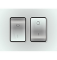 icon on off switch vector image