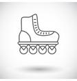 Roller skate vector image