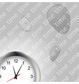 Time and clocks backgroundai vector image