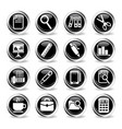 office icon set vector image