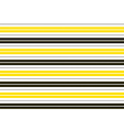 Yellow Black White Stripes Background vector image