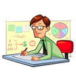 Business Planner vector image
