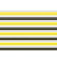 Yellow Black White Stripes Background vector image