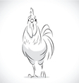 chicken 2 vector image