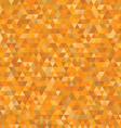orange triangles pattern vector image