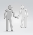 Shake hands deal vector