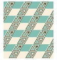 Fashion pattern with triangles vector image