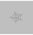 Spiderweb computer symbol vector image