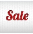 Sale poster vector image