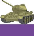 Tank a vector image