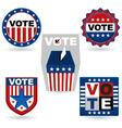Election Emblem vector image vector image