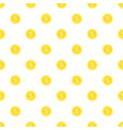 seamless background gold coins vector image