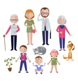 Family Flat Style Concept vector image