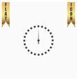 Scales screen circle icon vector image
