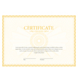 Certificate Template diplomas currency vector image