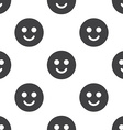 smile seamless pattern vector image