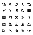 Sports and Games Icons 14 vector image