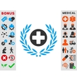 Health Care Embleme Icon vector image