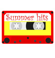 Summer hits vector image