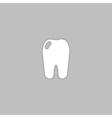 Tooth computer symbol vector image