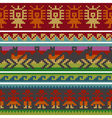 andean knitting borders vector image