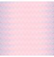 Pink triangles zigzaz pattern vector image