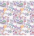 Sea life baby pattern vector image
