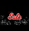 black friday sale decoration with an abstract vector image