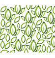Green leafs texture vector image