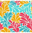 Abstract romantic seamless wallpaper with curls vector image