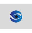 Eye vision logo design template Eye icon vector image