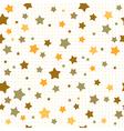 brown stars vector image