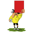 Fanny referee vector image